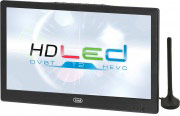 "TREVI TV Portatile LED 10.1"" HD Ready DVB T2 USB HDMI 12 V telecomando LTV2010HE"