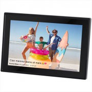 "TREVI 223000 Cornice digitale 10.1"" Display Touch LED Portafoto 8 Gb Nero DPL 2230"
