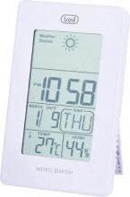 TREVI 310401 Stazione Meteo Orologio sveglia digitale Termometro Calendario ME3104WH