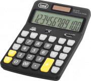 TREVI C3775 Calcolatrice Finanziaria 12 cifre da tavolo colore Nero