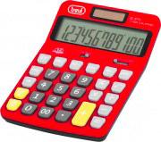 TREVI Calcolatrice Finanziaria 12 cifre da tavolo colore Rosso C3775