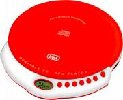 TREVI Lettore Cd Portatile Mp3 Display LCD + ESP colore Rosso CMP 498