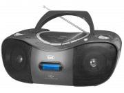 TREVI Radio Stereo portatile Boombox MP3,CD,CD-RRW FM USB AUX Nero CMP 582 DAB