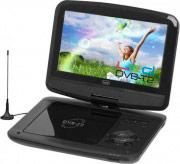 "TREVI Lettore DVD Portatile con TV Display 9"" Media Player DVB T2 DVBX 1413 TN"