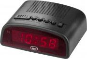 TREVI EC875 Sveglia digitale Orologio Display LED Funzione Snooze col Nero EC 875