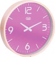 TREVI OM3311 Orologio da Parete ø 25 cm materiale cassa legno colore Viola OM 3311 L