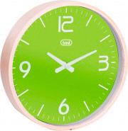 TREVI Orologio da Parete ø 25 cm materiale cassa legno colore Verde OM 3311 L