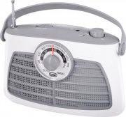 TREVI RA 763 Radio Portatile AM  FM colore Grigio  Bianco - 0076301  V