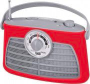 TREVI RA 763 V Radio Portatile AMFM col Rosso  0076302
