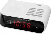 TREVI Radiosveglia Digitale AM  FM Funzione Snooze Bianco - 0082701 RC 827 D