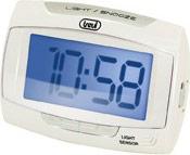 TREVI Sveglia sensore illuminazione automatica Snooze col. Bianco SLD 3065