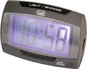 TREVI Sveglia Digitale funzione Snooze colore Nero - SLD 3065