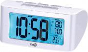 TREVI SLD 3880 Orologio Sveglia Digitale con Termometro Retroilluminato Bianco