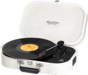 TREVI TT1020BTBIANCO Stereo Giradischi Bluetooth Portatile 334578 giri Mp3 Bianco TT1020BT