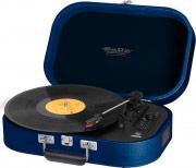 TREVI Stereo Giradischi Bluetooth Portatile 334578 giri Mp3 Blu TT1020BT