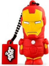 TRIBE Pen Drive 8 GB USB 2.0 Chiavetta USB Marvel Ironman FD016404