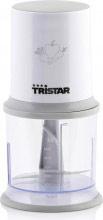 TRISTAR Tritatutto Capacità 0.5 Litri 200 Watt Lama Acciaio Inox Bianco BL-4020