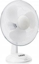 TRISTAR VE-5978 Ventilatore da Tavolo 3 Pale ø 40 cm Oscillante 3 Velocità Bianco