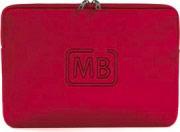 """TUCANO Cover Custodia per Notebook MacBook fino 11"""" in Neoprene Rosso BF-E-MB13R"""