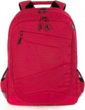"""TUCANO BLABK-R Zaino Porta Computer Notebook 17"""" Multitasca colore Rosso  Lato"""