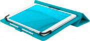 TUCANO TAB-FAP10-Z Cover Custodia a Libro Tablet 10 Universale Azzurro