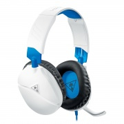TURTLE BEACH RECON70PW Cuffie Gaming Stereo Microfono Play Station 4 Bianco Blu Recon 70