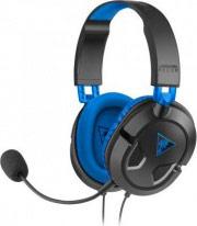 TURTLE BEACH Cuffie Gaming PS4 PS3 Cuffie con Microfono Archetto Nero Recon 60P