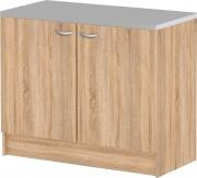 TVILUM APS 45513-AK Mobile Lavello Cucina Sottolavello 2 Ante 100x47x82h cm