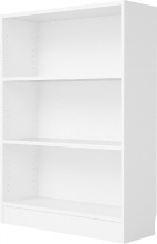 TVILUM APS 71776-49 Libreria Scaffale 2 Ripiani 80x26x107h cm Bianco