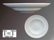 Table Top B890 Piatto Pasta Bowl Tondo Porcellana Bianco cm 29