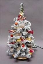 Tabor 158958 Albero di Natale con luci Rosa 40 cm 2018