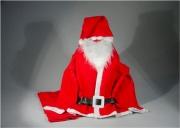 Tabor 405595 Decori Babbo Natale Costume in TNT 2016