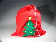 Tabor 405816 Sacco natalizio in stoffa TNT con cordino per la chiusura