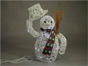 Tabor 975432 Decori Omino neve con luci e movimento