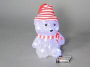 Tabor 988067 Orso con cappello alto 20 cm alimentati a batteria 2016