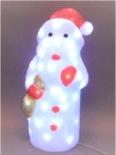 Tabor 999230 Babbo Natale 48 led 38 cm