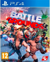 TAKE TWO PS41412 WWE 2K Battlegrounds, Videogioco PlayStation 4 PS4