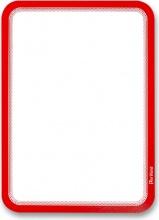 Tarifold B194953 Confezione 2 Magneto con Retro Adesivo A4 Rosso