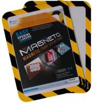 Tarifold B194974 Confezione 2 Magneto con Retro Ades A4 GialNer