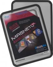 Tarifold B195067 Confezione 2 Magneto Solo con Retro Magn A3 Ner