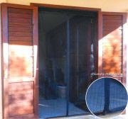 Tata Linda 72025 Zanzariera magnetica Porta finestra 120x240cm Nero