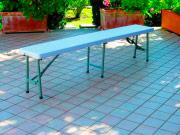 Tata Linda JDZ183 Panchina Giardino Plastica Panchina Esterno 183x30x43