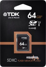 Tdk Scheda memoria sd 64 gb Class 10 SDXC 75000034464 T78718
