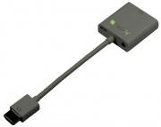 Techly HDMI-VGA2AU Adattatore da HDMI a VGA Maschiofemmina 0,15m Nero IDATA