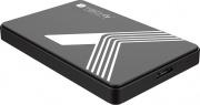 Techly USB3-SL25TY Box Esterno per HDD  SSD USB 3.0 colore Nero I-CASE