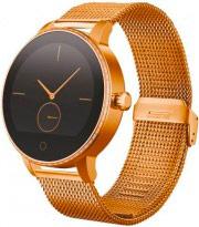 "Techmade Smartwatch Orologio Fitness 1.22"" Cardio + Powerbank ORO TECHWATCHL1GD"