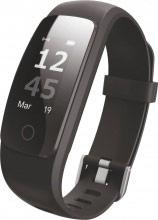 "Techmade TM-FIT2.0-BK Smartwatch Orologio Fitness 0.96"" Cardio GPS Impermeabile"