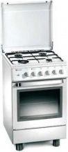 Tecnogas Cucina a Gas 4 Fuochi Forno Elettrico Ventilato Grill 50x50 cm - D13WS