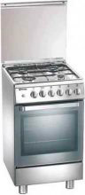 Tecnogas Cucina a Gas 4 Fuochi Forno Elettrico Ventilato Grill 50x50 cm - D13XS