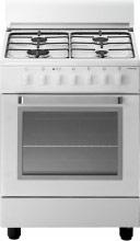Tecnogas Cucina a Gas 4 Fuochi Forno a Gas Grill 60x50 cm Coperchio - D52NWS